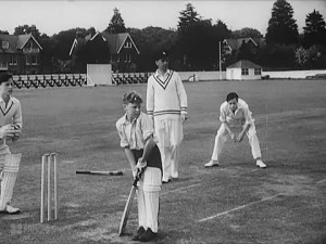 A village cricket match, stopped by the announcement of WW1, was resumed 100 years later