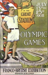 1908 Olympic Poster