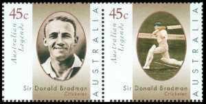 Don Bradman,  determined Aussie cricketer