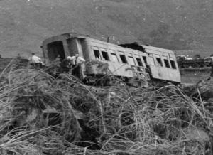 Tangiwai, collapsed bridge in 1953