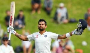 Viraj Kohli, on the attack, Adelaide 2104