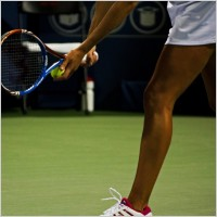 Women's sport - tennis