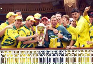 1999 Cricket World Cup Champions