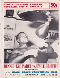Benny Paret vs Emile Griffith - the first meeting