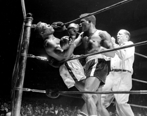 Emile Griffith vs Benny Paret.