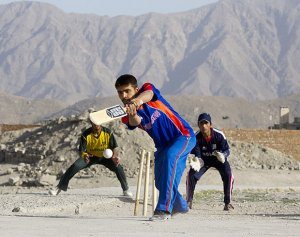 Cricket in Afghanistan (http://www.rediff.com)