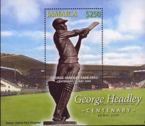 George Headley, a Jamaican icon